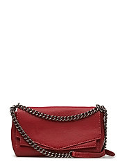Cora Crossbody Bag, Butter - CHILI RED
