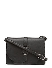 Catalina Crossbody Bag, Grain - BLACK