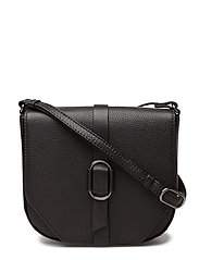 Paxton Crossbody Bag, Grain - BLACK