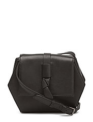 Una Crossbody Bag, Butter - BLACK