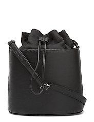 Inez Bag, Nubuck - BLACK