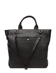 Zenia Bag, Grain - BLACK