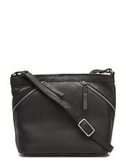 Roa Crossbody Bag, Grain - BLACK