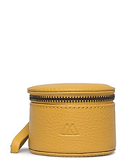 Lova Jewelry Box, S, Grain - LEMON