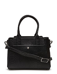 Merle Small Bag, Snake - BLACK