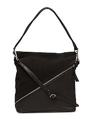 Irmelin Bag, Suede - BLACK