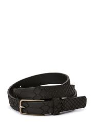 Celia Belt, Snake - Black