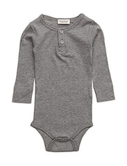 Body LS - Grey Melange