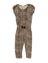 Rimini Jumpsuit - Brown Leo