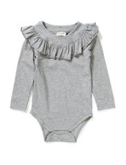 Bibbi Body LS - Grey Melange