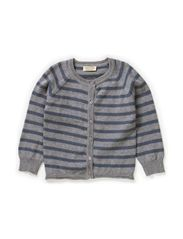 Totte Cardigan - Stormy Stripe