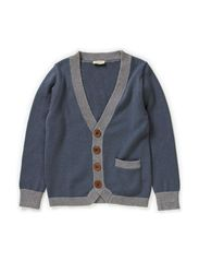 Topper Cardigan - Stormy Weather