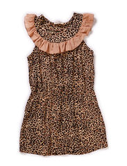 Leo Dawnie Dress - Brown Leo