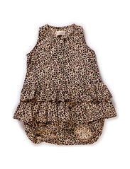 Leo Rumba Onesie - Brown Leo