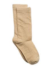Knee Socks Lurex - GOLD