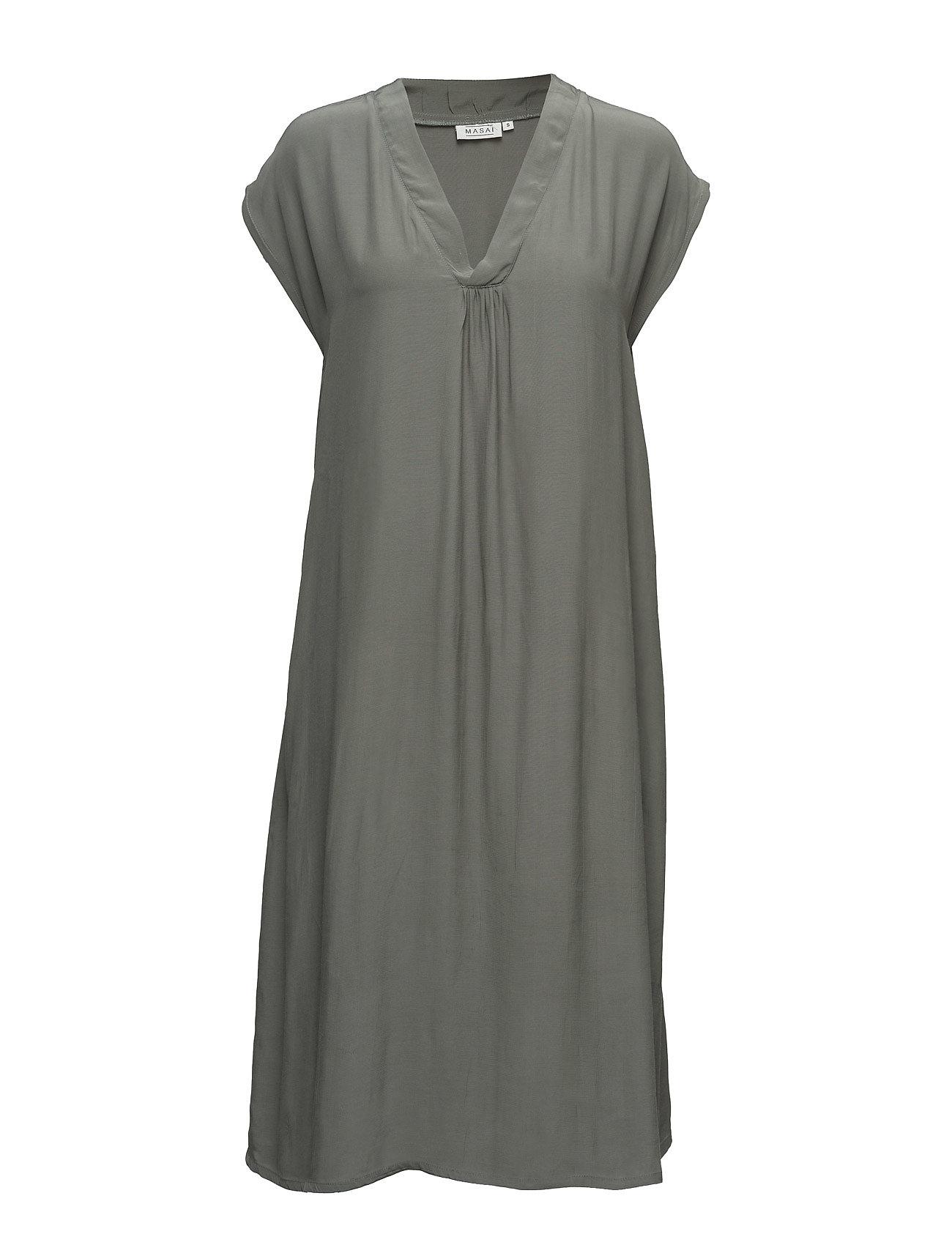 Omega Dress A-Shape No Slv Masai Knælange & mellemlange til Damer i