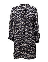 Justine jacket oversize - NAVY ORG