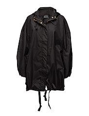 Talli coat oversize - BLACK