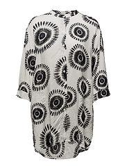 Igerna blouse oversize 3/4  PA - RESEDAGREEN ORG
