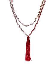 Adelphia necklace - CHERRY MIX