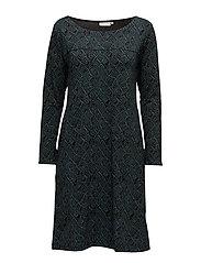 Gudrun tunic straight long slv - PETRO ORG