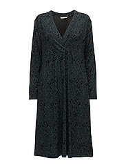 Ninki dress fitted long slv - PETRO ORG
