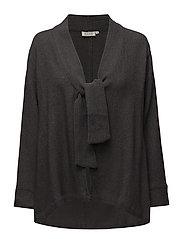 Jody jacket fitted long slv - STONE