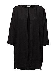 Jarmis jacket straight 3/4 slv - BLACK