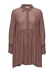 Ingrid blouse fitted long slv - HAZELROSE ORG