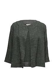 Jordana jacket a-shape 3/4 slv - EMERALD ORG