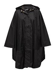 Tasima cape oversize - BLACK