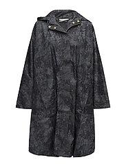 Tasima cape oversize - STONE ORG