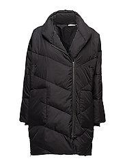 Tronja coat oversize - BLACK