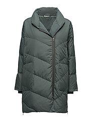 Tronja coat oversize - EMERALD