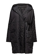 Tuffa coat oversize - BLACK