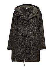 Turi coat oversize - EMERALD ORG