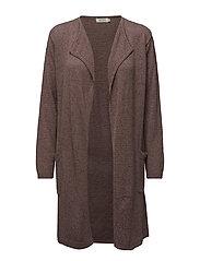 Loren cardigan fitted long slv - HAZELROSE