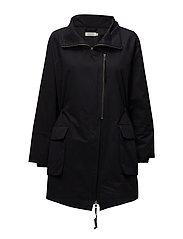 Tinny coat - BLACK