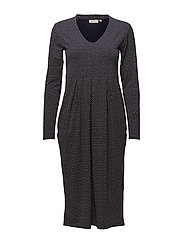 Neba dress - NAVY ORG