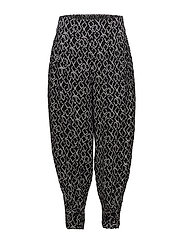 Paisley trousers - BLACK ORG