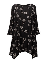 Gili tunic - BLACK ORG