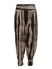 Paisley trousers - KHAKI ORG
