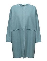 Theola coat - AQUA