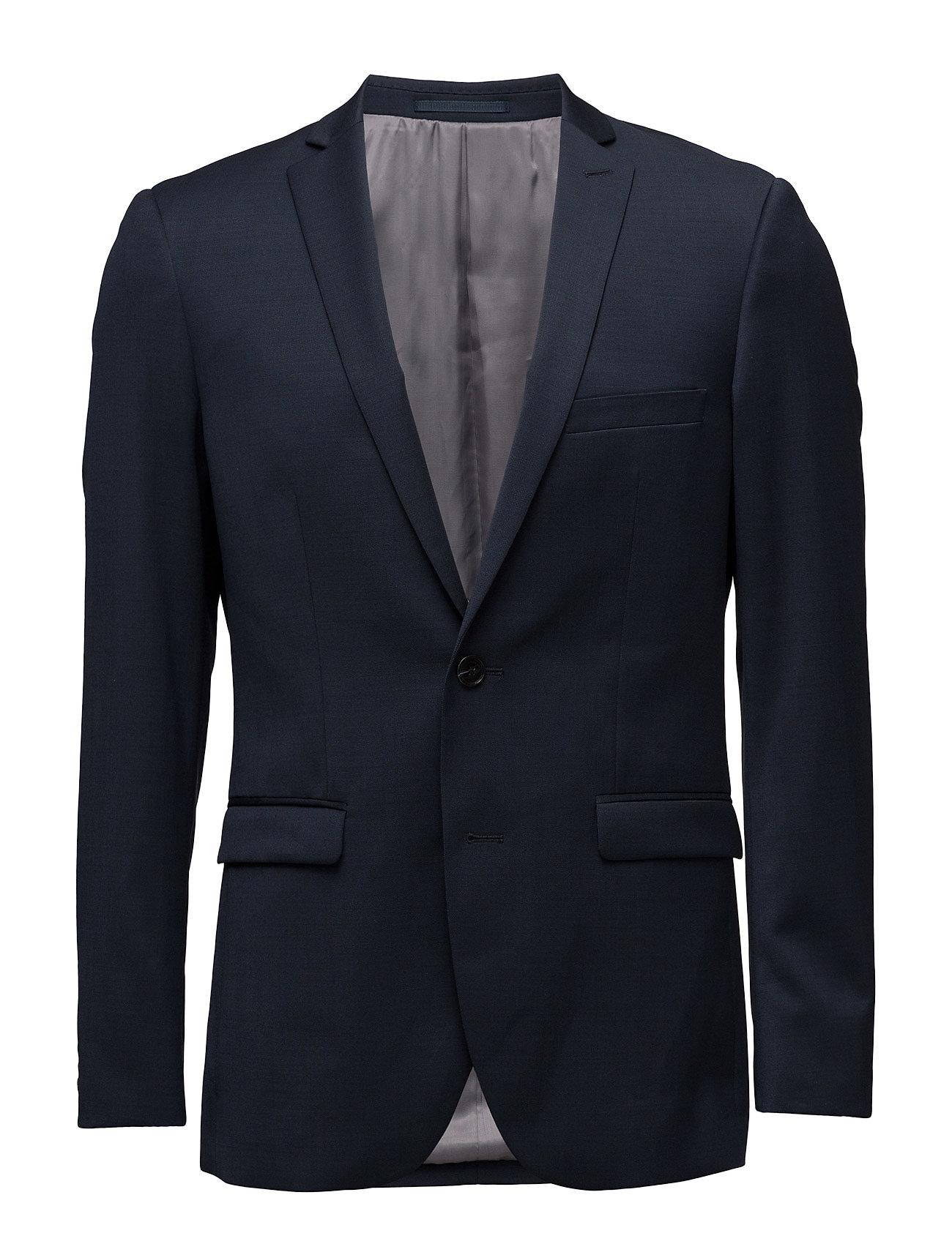 George F Stretch Suit Matinique Blazere til Herrer i Mørk Navy
