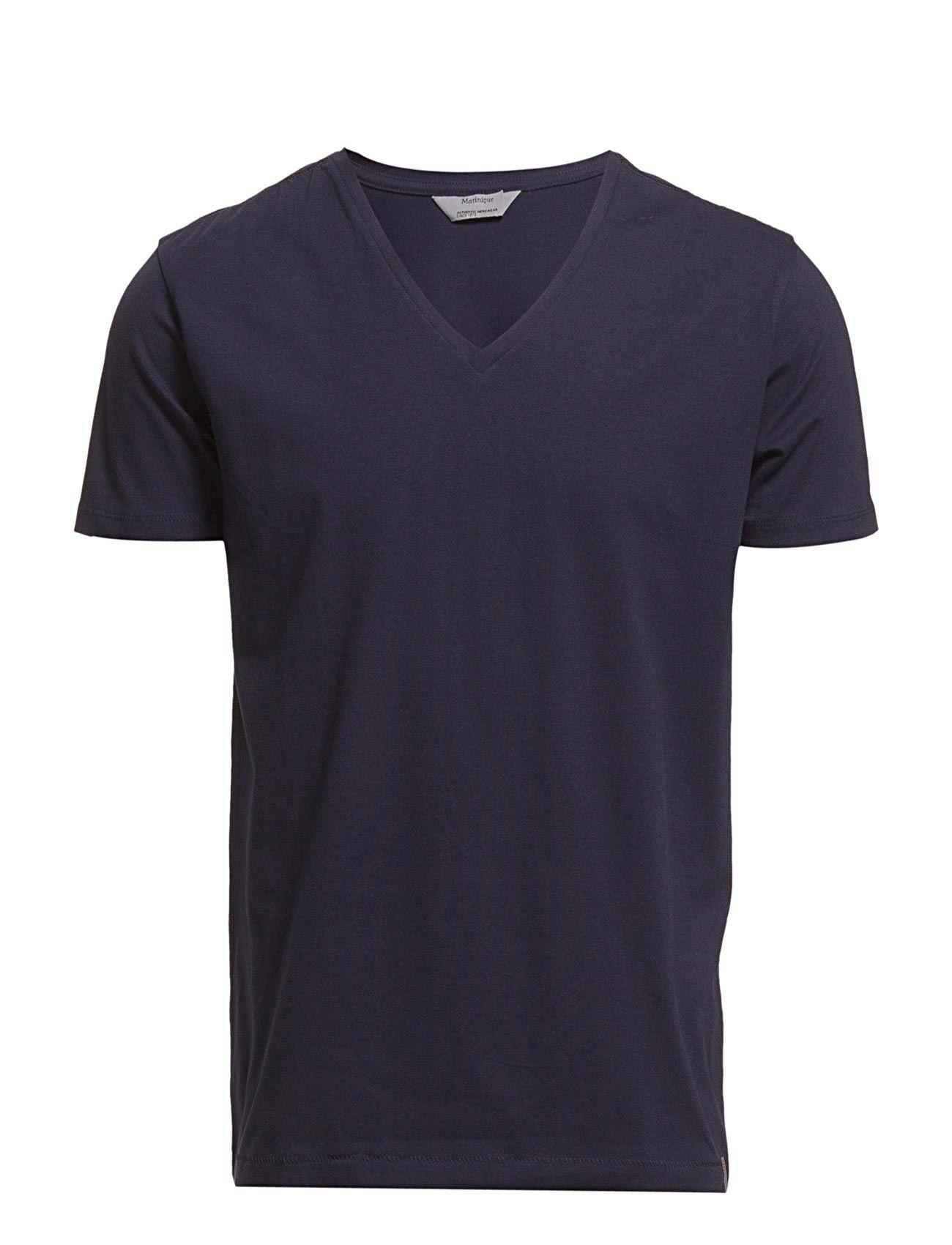 Madelink Matinique T-shirts til Mænd i Sort