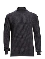 Marvein R Cotton knit - DARK NAVY