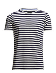 Jermane Clean stripe - Midnight Blue