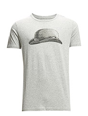 Bruno Print Printed t shirt - LIGHT GREY MELANGE