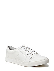 Leather Trainer - WHITE