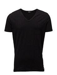 Madelink Cotton Stretch - BLACK